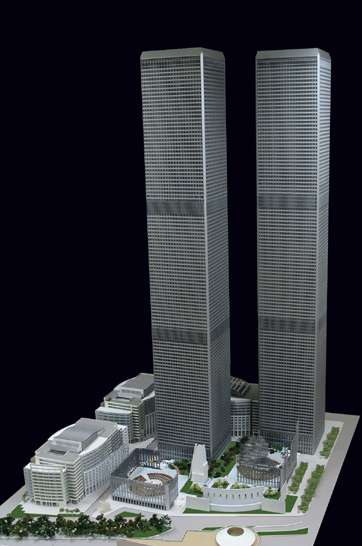 bushs terrible reign 8 years rebuild twin towers bigger stronger